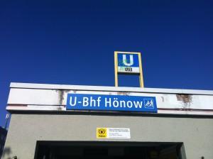 besonders für Hönower sind die Bauarbeiten auf der U5 lästig